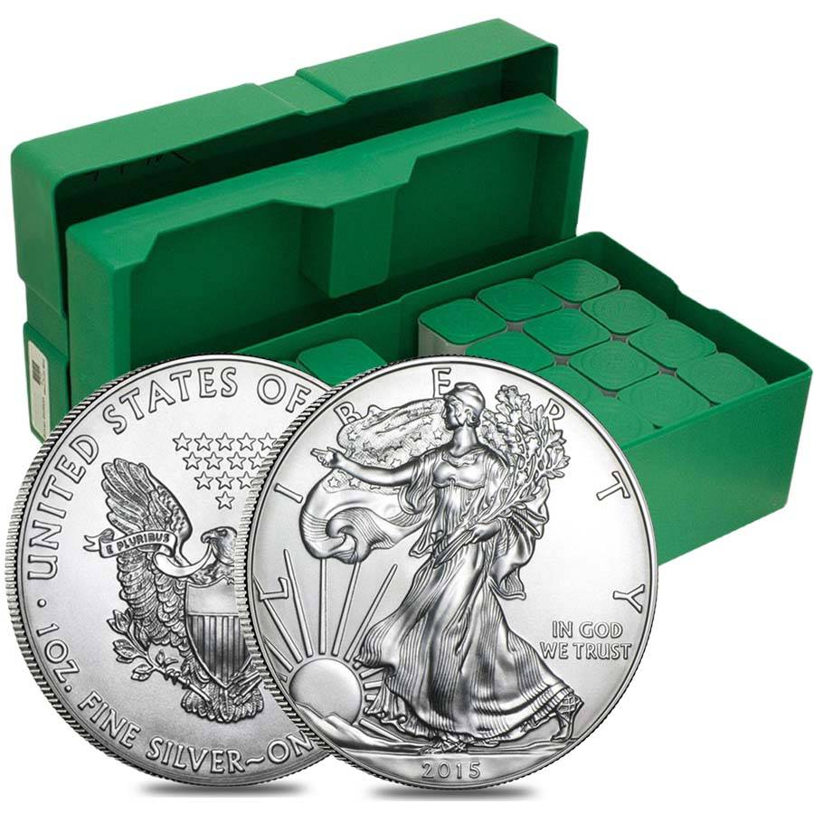 2015 1 Oz Silver Eagle Brilliant Uncirculated 1 Coins