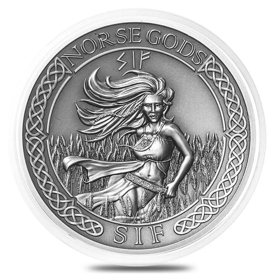 38.6 mm Empty Coin Capsule For 2 oz Silver Queen/'s Beasts