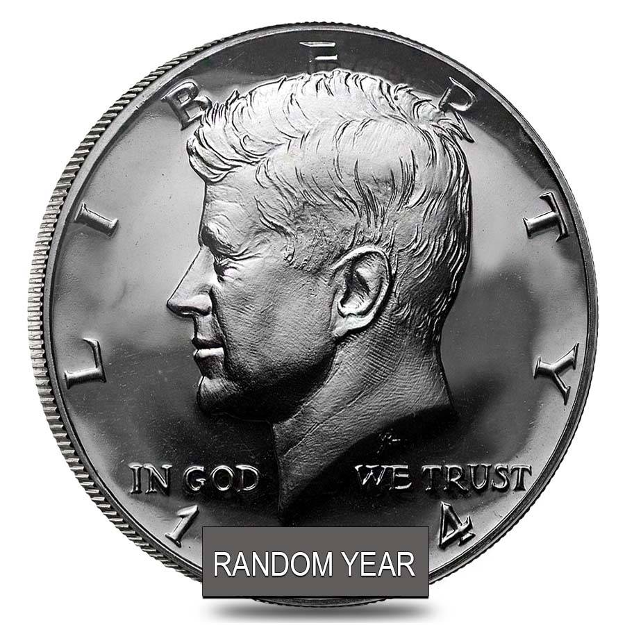 10 Face Value Kennedy Half Dollars 90 Silver Roll Proof