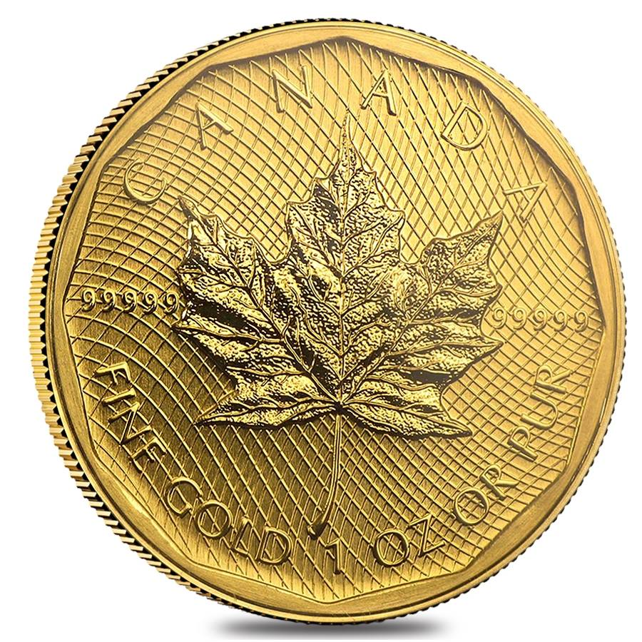 2009 1 Oz Canadian Gold Maple Leaf 200 Coin