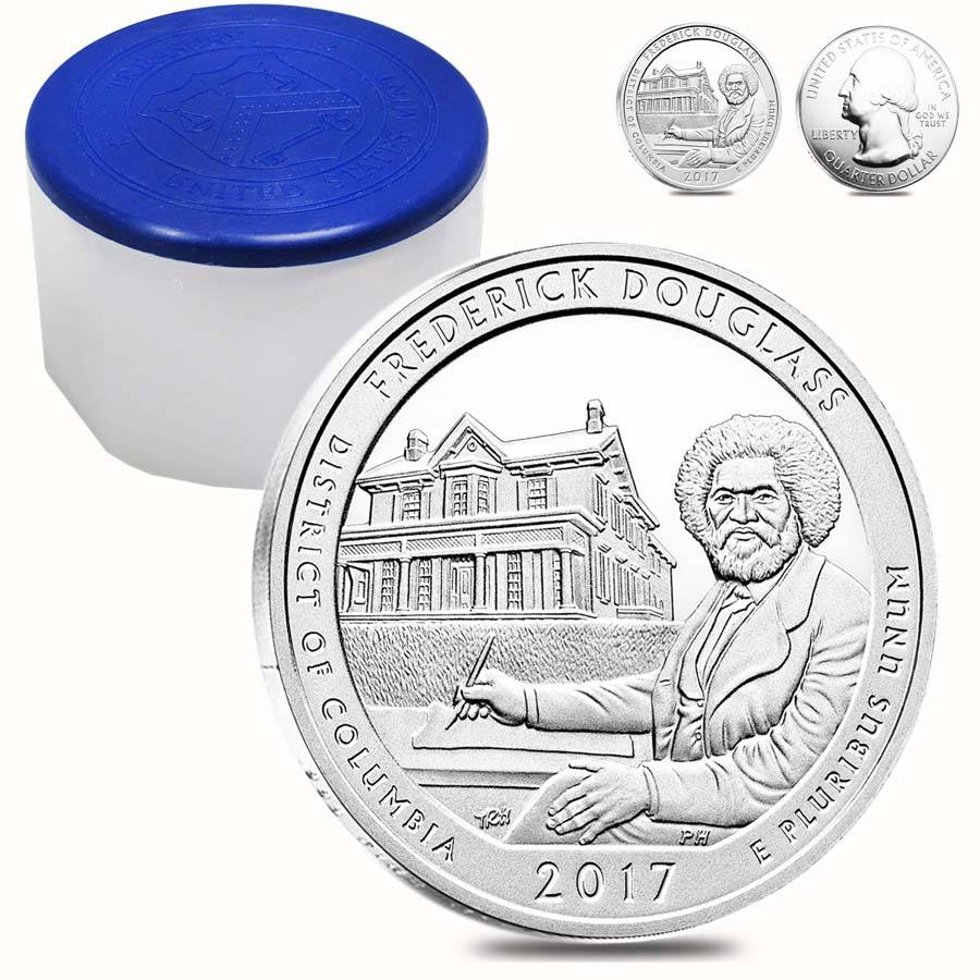 2017 Silver 5 oz ATB Frederick Douglass Washington D.C.