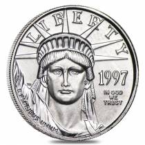 1997 1/10 oz Platinum American Eagle
