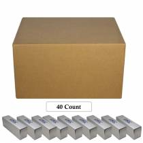 Box of 40 - NGC 20-Coin Empty Storage Box