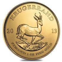 2013 1 oz South African Krugerrand Gold Coin BU