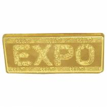 2010 100 Gram Gold Bar Commemorative Expo Shanghai China - Limited Edition