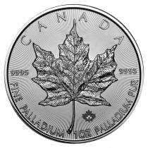 2016 1 oz Palladium Canadian Maple Leaf Coin BU