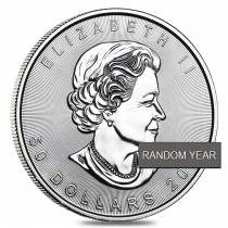 1 oz Palladium Canadian Maple Leaf (Random Year)