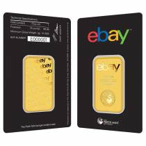 1 oz eBay Perth Mint Gold Bar .9999 Fine (In Assay)