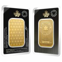 2016 1 oz Gold Wafer Bar Royal Canadian Mint RCM .9999 Fine (In Assay)