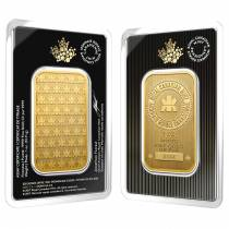 2017 1 oz Gold Wafer Bar Royal Canadian Mint RCM .9999 Fine (In Assay)