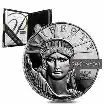1 oz Proof Platinum American Eagle (Random Year, w/Box & COA)