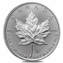 2017 1 oz Platinum Canadian Maple Leaf Coin $50 .9995 Fine BU