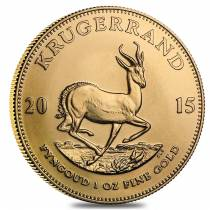 2015 South Africa 1 oz Gold Krugerrand BU