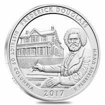 2017 5 oz Silver America the Beautiful ATB District of Columbia Frederick Douglass National Historic Site Coin