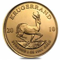 2010 South Africa 1 oz Gold Krugerrand BU