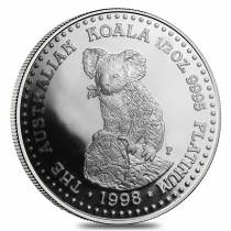 1998 1/2 oz Platinum Australian Koala Proof Coin