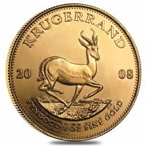 2008 South Africa 1 oz Gold Krugerrand BU