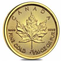 2018 1/20 oz Canadian Gold Maple Leaf $1 Coin .9999 Fine BU (Sealed)