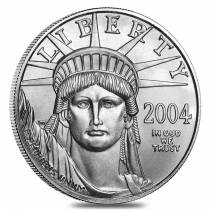2004 1/2 oz $50 Platinum American Eagle Coin BU