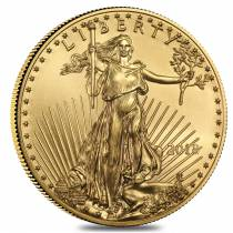 2018 1/2 oz Gold American Eagle $25 Coin BU