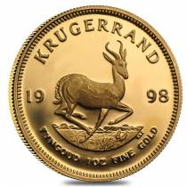 1998 South Africa 1 oz Proof Gold Krugerrand