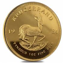 1981 South Africa 1 oz Proof Gold Krugerrand