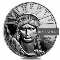 1 oz Proof Platinum American Eagle In Cap (Random Year)