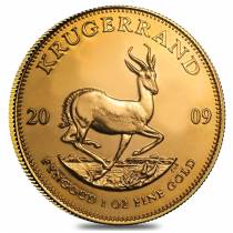 2009 South Africa 1 oz Gold Krugerrand BU