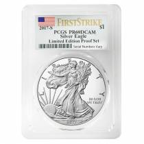 2017 S 1 oz Proof Silver American Eagle Limited Edition PCGS PF 69 FS