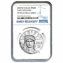 2018-W 1 oz Platinum American Eagle Proof Coin NGC PF 69 UCAM Early Releases