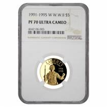 2011 W Gold $5 Proof Commemorative US Army NGC PF 70 UCAM