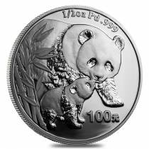 2004 China 1/2 oz Proof Palladium Panda 100 Yuan (Sealed)
