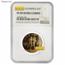 US Mint Gold $10 Commemorative Coins NGC/PCGS MS/PF 69 Random Year