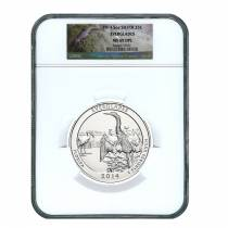 2014 5 oz Silver America the Beautiful ATB Everglades National Park NGC MS 69 DPL