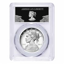 2017 P 1 oz American Liberty High Relief Proof Silver Medal PCGS PF 69 First Strike (Liberty Label)