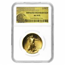2009 1 oz $20 Ultra High Relief Saint-Gaudens Double Eagle NGC MS 70 PL