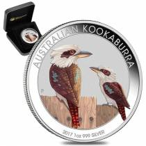 Perth Mint Australian Kookaburra Silver Coins For Sale
