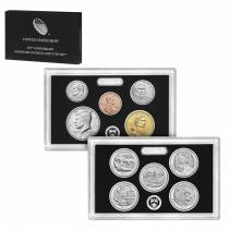 2017-S US Mint 225th Anniversary Enhanced Uncirculated 10-Coin Set (W/Box And COA)