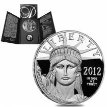 2012-W 1 oz Platinum American Eagle Proof Coin (w/Box & COA)