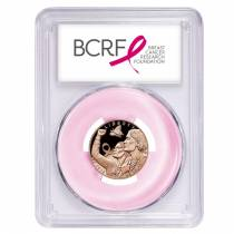 2018 W Breast Cancer Awareness $5 Proof Gold Commemorative PCGS PF 69 First Strike