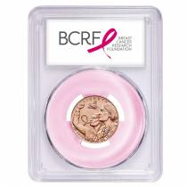 2018 W Breast Cancer Awareness $5 Gold Commemorative PCGS MS 69 First Strike