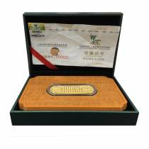 2010 China 38 Gram Shanghai World Expo Commemorative Gold Bar .9999 Fine (w/Box & COA)