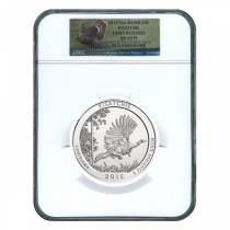 2015 5 oz America the Beautiful ATB Silver Kisatchie National Forest Coin NGC MS 69 PL (Early Releases)