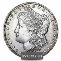 1878-1904 Silver Morgan Dollar AU (Random Year)