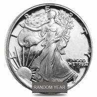 1 oz Proof Silver American Eagle In Cap (Abrasions,Random Year)