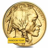 1 oz Gold American Buffalo (Random Year)