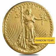 $20 Gold Double Eagle Saint Gaudens - Ex Jewelry (Random Year)