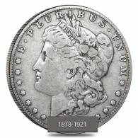 1878-1921 Silver Morgan Dollar Cull (Random Year)