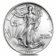 1993 1 oz Silver American Eagle Brilliant Uncirculated