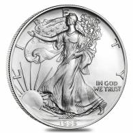 1995 1 oz Silver American Eagle Brilliant Uncirculated